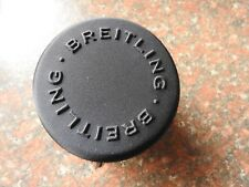 NEW STYLE ROUND  BREITLING WATCH TRAVEL CASE IN BLACK
