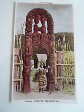 NEW ZEALAND, Entrance to Maori Pa - Flax Rotorua NZ 4331 §A2250