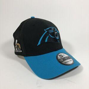 Carolina Panthers New Era 9FORTY Medium/large Hat Official Super Bowl 50
