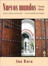 Nuevos mundos: Curso de espanol para bilingues, Roca, Ana, 0470588985, Book, Acc