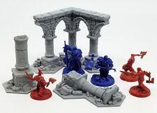 Warhammer Shadespire Terrain Set - Tabletop Wargaming, D&D, 3D printed ruins