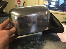 NISSAN NAVARA D22 O/S (DRIVER) CHROME DOOR MIRROR 2002 TO 2005