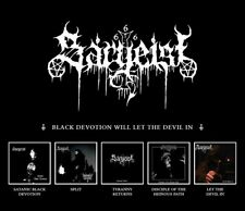 SARGEIST - Black Devotion Will Let the Devil In 5CD BOX, NEU
