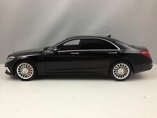 GT Spirit Mercedes Benz S65 AMG S Class Sedan Black Resin Model 1/18 L.E.