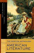 The Norton Anthology of American Literature, Seventh Edition: Volume-ExLibrary
