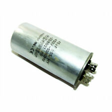 AXIAL FAN - METAL ROUND RUN CAPACITOR 45µF / 45UF 400-500V 4 TERMINALS