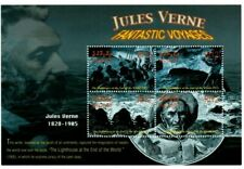 MODERN GEMS - Maldives - Jules Verne - Sheet Of 4 - MNH