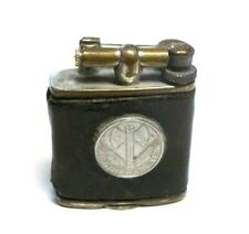 Vintage Premo  Leather Wrapped Lift Arm Lighter