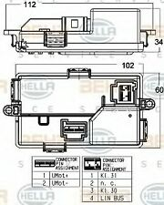 Air Conditioning Regulator 5HL351321-671 by Hella - Single