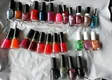 LOT of 26 Orly OPI Sally Hansen Revlon Color Club Barielle FP Nail Polish New