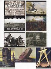 1914 WAR ILLUSTRATED TRADING CARDS CULT STUFF 18 CARD BASE SET