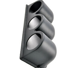 "Universal Car Black 2"" 52mm 3 Triple Hole Dash Gauge Pod Mount Holder ABS Sales"