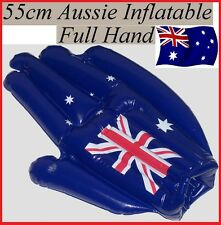 AUSSIE FLAG 55cm  FULL HAND Australia Day Inflatable Beach Pool Sports Toy New