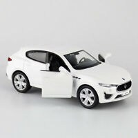 Maserati Levante GTS SUV 1:36 Model Car Diecast Toy Kids Collection Gift White