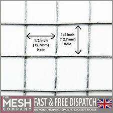 More details for 13mm galvanised welded wire chicken rabbit mesh 1/2