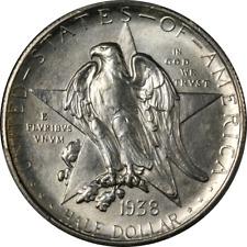 1938-S Texas Commem Half Dollar PCGS MS66 Bright White Great Eye Appeal