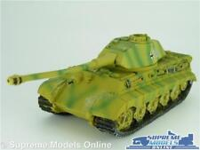 KING TIGER TANK MODEL GERMANY 1:60 SIZE ARMY MILITARY RESIN DELPRADO T3