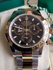 Rolex Daytona 116503 Black Index Dial Steel & Gold