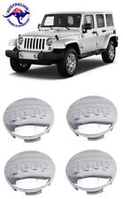 4X63MM Wheel Center Hub Cap JEEP Grand Cherokee Wrangler Compass Renegade silver