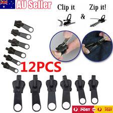 12 x Universal Instant Fix A Zipper Repair Replacement Zip Sewing Kit DIY Rescue