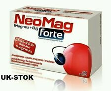 NeoMag Forte 50 tabs Magnesium & vit B6, Stress, Strength - Magnez & Witamina B6