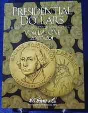HE Harris Presidential Dollars Vol #1, P & D 2007-2011 Coin Folder Album Book