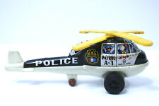 Tin Toy ND TOYS A-1 PATROL Police Helicopter made in Japan vintage