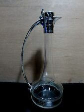 WMF SILVER PLATED SECESSIONIST ART NOUVEAU GLASS CLARET JUG DORIAN FRANK STYLE ?