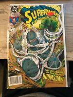 SUPERMAN THE MAN OF STEEL #18 (1992) 1st Doomsday 1st Print NM FREE SHIPPING!