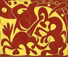Pablo Picasso linocut - 1962 edition