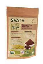 SVATV Manjistha Pulver (Rubia cordifolia) USDA / EU-zertifiziert Organic 227g