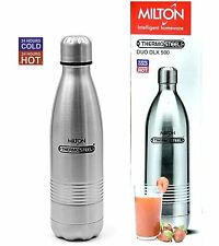 MILTON THERMOSTEEL DUO DLX FLASK 500 ML (24 HOURS HOT & COLD)