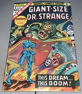 Giant-Size Dr. Strange #1 Annual 1975 Gil Kane Doctor Strange