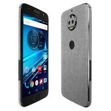 Skinomi TechSkin - Brushed Aluminum Skin & Screen Protector for Moto G5s Plus
