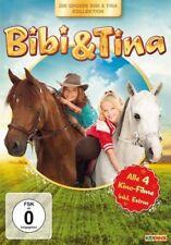 BIBI UND TINA 1 + 2 + 3 + 4 MÄDCHEN GEGEN JUNGS Tohuwabohu Der Film DVD NEU