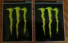 Monster Energy Decal Sticker Lot Of 2