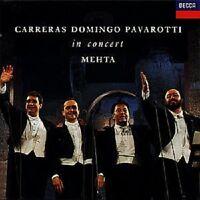 """CARRERAS/DOMINGO/PAVAROTTI """"3 TENÖRE IM KONZERT"""" CD NEU"""