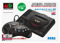 SEGA Mega Drive Mini Asia Edition Original 42 Game 6 Button 2 Controller Console
