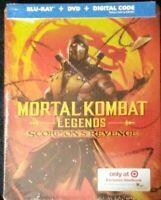 Mortal Kombat Legacy Scorpion's Revenge (Target Exclusive Bluray Steelbook)