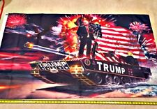 Donald Trump Flag Free Shipping Tank 3x5 foot Make America Great Again 2020 2016