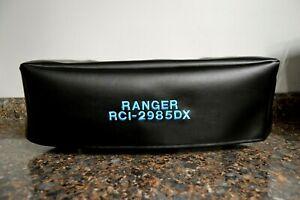 Ranger RCI-2985DX with Rack Handles installed CB Radio Amateur Radio Dust Cover