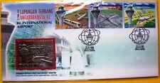 M'SIA  MFDC224: KUALA LUMPUR INTERNATIONAL AIRPORT 1998 - Premier Pewter Edition
