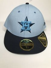 MLB Houston Astros New Era Fathers Day Fitted 59FIFTY Contoured Crown 7 1/2