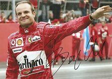 Rubens Barrichello Racing- Formula One F1 IndyCar 5x7 Photo Signed Auto