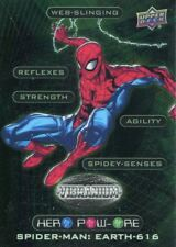 Marvel Vibranium Hero Pow-Ore Chase Card HP-10 Spider-Man