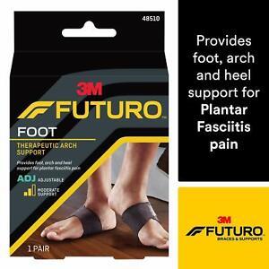 3M Futuro Therapeutic Arch Support Foot Relieves Planter Fasciitis Symptoms NEW