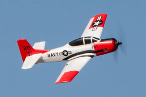 T-28 Trojan Micro RTF RC Airplane w/PASS (Pilot Assist Stability Software)