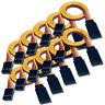 10 Stück Servokabel 20cm Servo Lead Verlängerung Kabel JR Graupner Futaba 26AWG