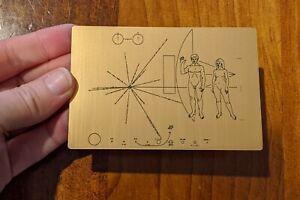 NASA Pioneer Plaque sticker - Made in Australia