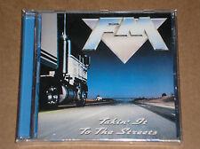 FM - TAKIN' IT TO THE STREETS - CD SIGILLATO (SEALED)